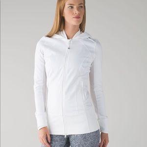 LULULEMON daily practice jacket in white